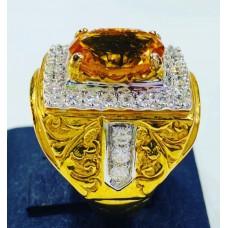 แหวนพลอยซิทริน