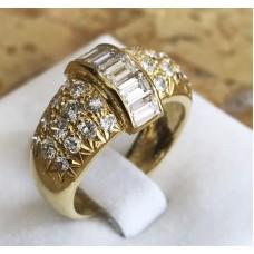 แหวนเพชรประดับเพชร