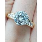 แหวนเพชร 2.18 กะรัต