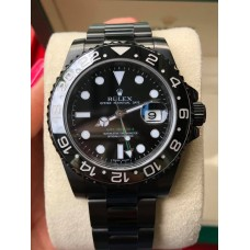นาฬิกาRolex Gmt Master II Black