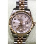 Rolex Datejust Lady Pink Gold