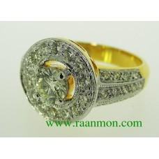 แหวนผู้หญิง เพชรดีไซร์เก๋
