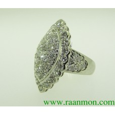 แหวนผู้หญิงประดับเพชร