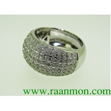 แหวนผู้หญิงประดับเพชรแท้