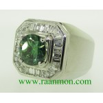 แหวนผู้ชาย Green Diamond