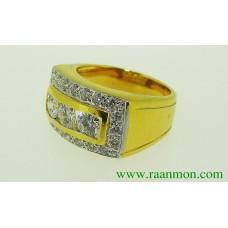 แหวนประดับเพชร ใส่ได้ทั้งผู้หญิงและผู้ชาย