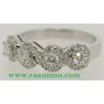 แหวนเพชรแท้ผู้หญิง