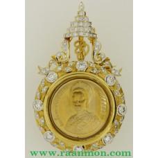 เหรียญทองฝังเพชร